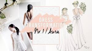 diy boho wedding dress sketch thrifted transformation youtube