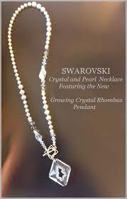 swarovski crystal necklace design images Swarovski crystal necklace design inspiration authorized reseller png
