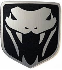 dodge ram viper amazon com dodge ram srt10 srt 10 truck front emblem angry viper