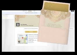 Wedding Rsvp Websites Email Online Personal Invitations That Wow Greenvelope Com