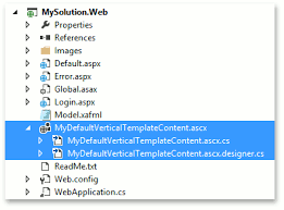 how to customize an asp net template expressapp framework xaf
