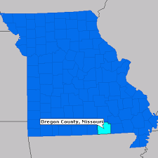 map of oregon mo oregon county missouri county information epodunk
