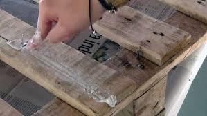fabriquer canapé comment fabriquer un canapé en palettes de bois très simplement