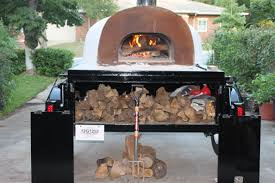 mobile wood fired pizza ovens