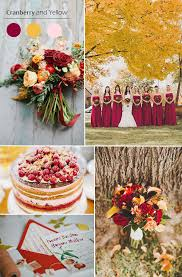 fall colors for weddings top 5 fall wedding color combo ideas for autumn brides 2015