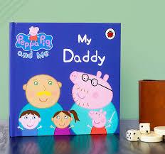 personalised peppa pig daddy