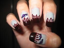 blood drip nail art choice image nail art designs