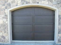 modern house garage modern house with small fiberglass garage door outdoor
