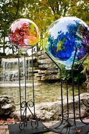 Gazing Ball And Stand 252 Best Gazing Balls Images On Pinterest Garden Ideas