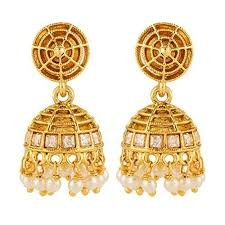 jhumka earrings online gold plated jhumka earrings online jewelry flatheadlake3on3