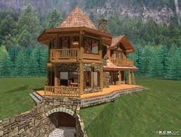 Storybook Cottage House Plans by Small House Plan A Storybook Cabin Cottage