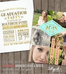photo graduation invitations plumegiant