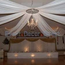 ceiling draping for weddings wedding ceiling decor draping kits