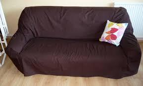 canapé cuir et tissu housse pour canapé couturetissus