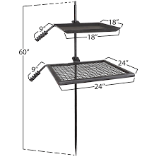 Pit Fire Grill Amazon Com Titan Campfire Adjustable Swivel Grill Fire Pit Cooking