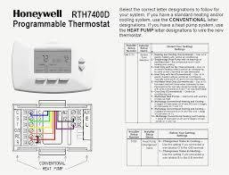 honeywell rth7500 thermostat wiring diagram