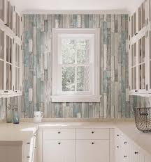 Barn Board Bathroom Barn Board Grey Thin Plank Wallpaper From The Essentials