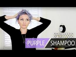 shimmer lights shoo before and after the new way to use purple shoo on platinum hair youtube