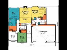 one story house plans house plans one story 4 bedroom house plans
