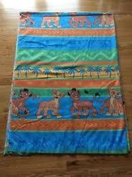 vintage disney u0027s lion king standard pillowcase simba nala timon pumba