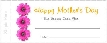 flower coupons how to make s day printable coupons