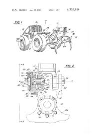 patent us4335914 grapple pivot joint with swing dampener
