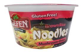 gefen noodles gefen fusion noodles brown rice imitation chicken flavor 2 25