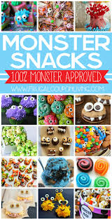 monster snacks for kids and monster party ideas frugal monsters