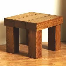 rustic oak coffee table hollow beam aged oak coffee side table old rustic farm house