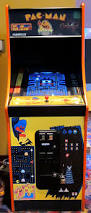 Galaga Arcade Cabinet My Local Movie Theater Of All Places Has A Pac Man Galaga