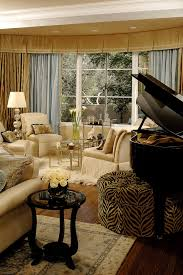 Ideas For Leopard Ottoman Design Animal Print Ottoman Family Room Traditional With Bar Cart Bay
