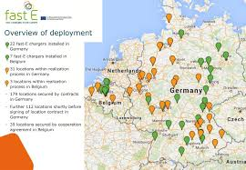 netherlands location in europe map fast e european rapid charging network kicks electrive