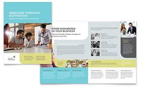 indesign templates brochures flyers newsletters postcards
