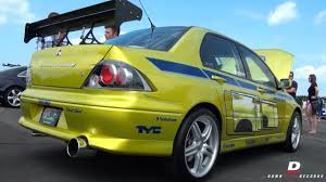 used mitsubishi evo paul walker u0027s