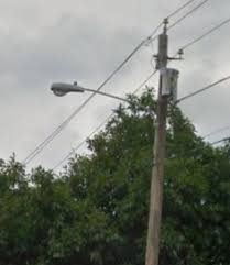 utility pole light fixtures these are the led fixtures being installed widespread on brooklyn
