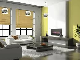 living room with electric fireplace white windows wood trim 48