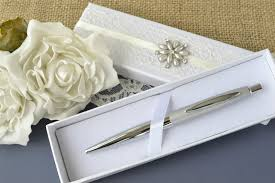 guest book pen wedding guest book pen with ivory decorated