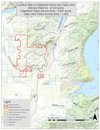 Idaho County Map Easement Opening Idaho U0027s Clagstone Meadows To Public Access Aug 1