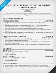vocational counselor resume exol gbabogados co