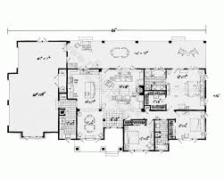 one story house plans with walkout basement house plans one story country with porches connecting in suite
