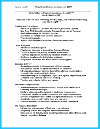 Application Resume Perfect Crna Resume To Get Noticed By Company