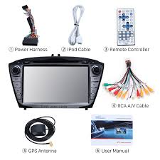 inch dvd navigation system touch screen for 2014 2015 hyundai ix35