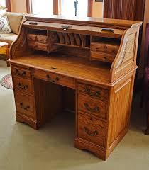 Small Oak Roll Top Desk Oak Roll Top Computer Desk Innovative Small Regarding Rolltop