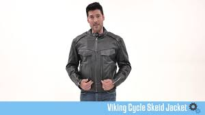brown leather motorcycle jacket viking cycle skeid black u0026 brown leather motorcycle jacket