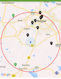 Circle Map Zooming Google Map To Specific Radius In Miles In Android Stack