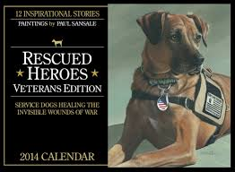 background of the rescued heroes veterans edition calendars