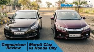 honda car comparison maruti ciaz vs honda city comparison review motorbeam