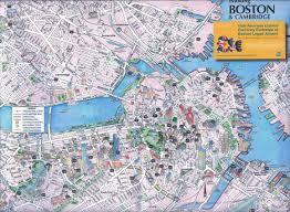 boston tourist map maps update 21051488 tourist map of boston boston printable