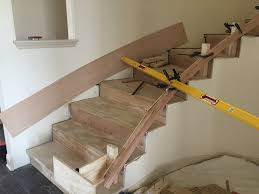 skirt board on curved stairs finish carpentry contractor talk
