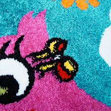 Pink Area Rug For Nursery Owl Area Rug Hoot Area Rug For Nursery Turquoise Nursery Area Rug